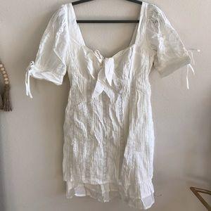 Lulus White Mini Dress